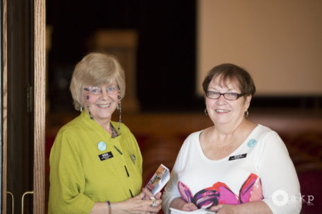 Two of our long-time volunteers: Mary Ann and Penney