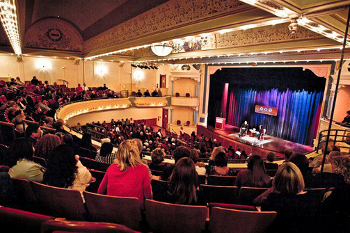 National Writers Series at the City Opera House, Traverse City, MI