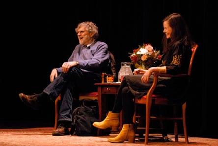 Alan Cheuse and Geraldine Brooks