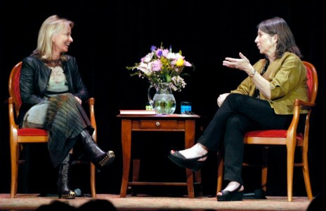 Susan Casey and Anna Quindlen