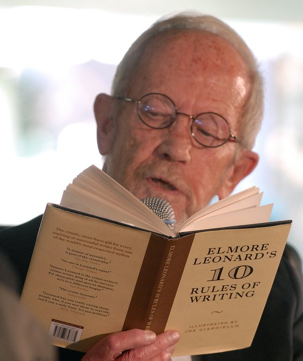 Two-time NWS guest and literary legend Elmore Leonard dies at 87