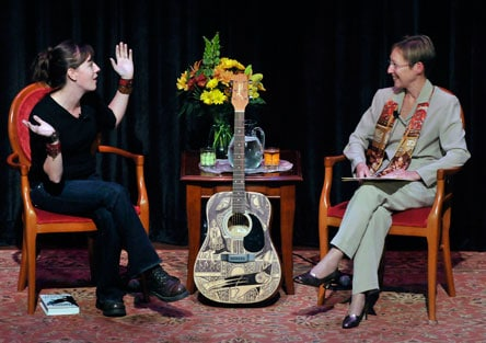 Maggie Stiefvater and Lynn Rutan on the National Writers Series Stage