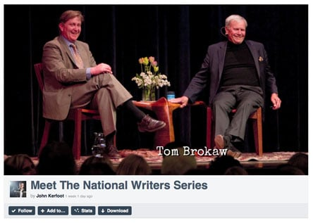 Meet the National Writers Series video