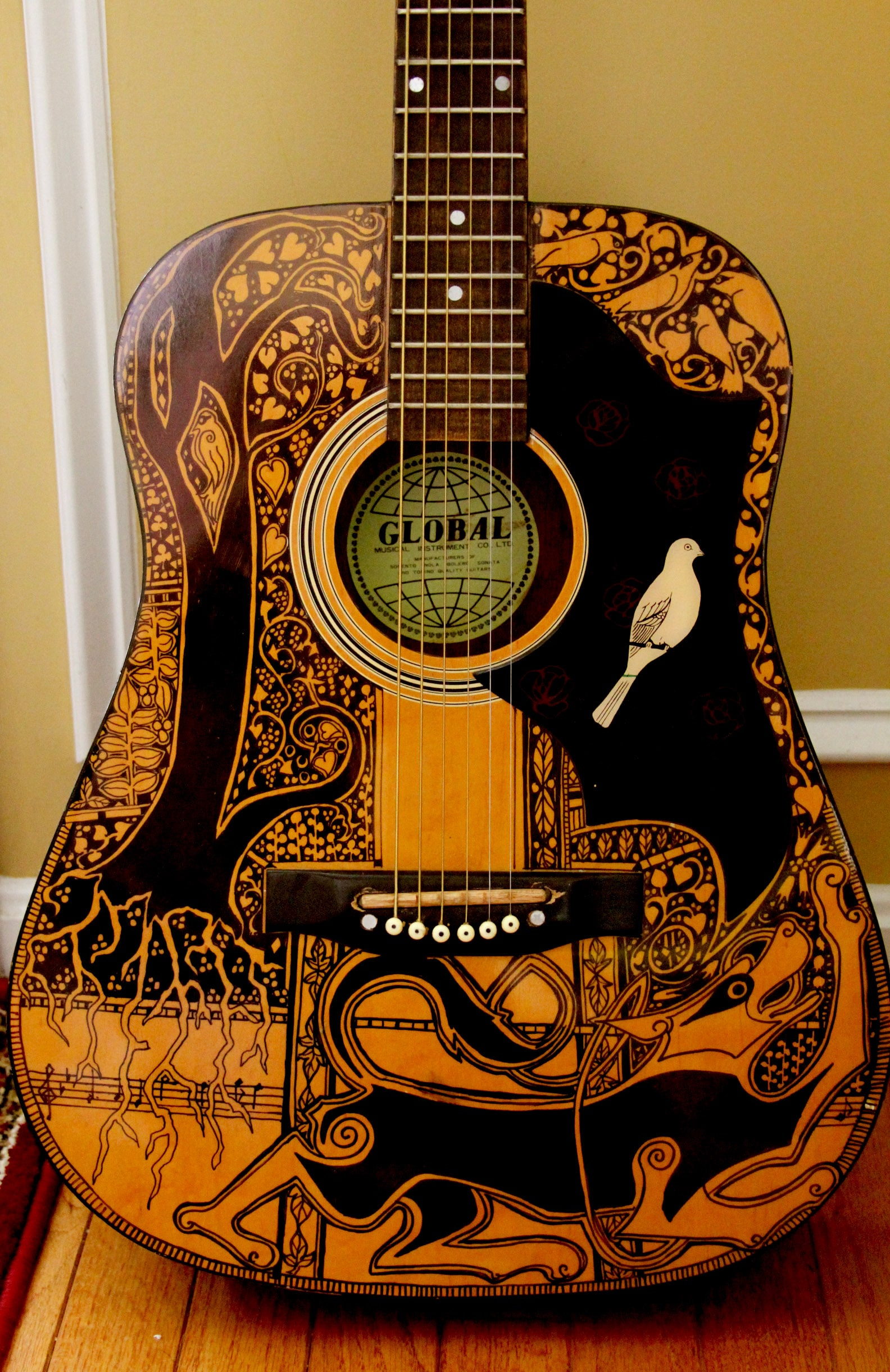 Win a guitar designed by Maggie Stiefvater