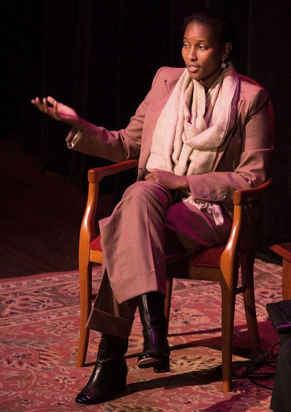 Hirsi Ali on the National Writers Series Stage