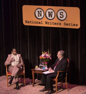 Ayaan Hirsi Ali and Jack Segal at the National Writers Series