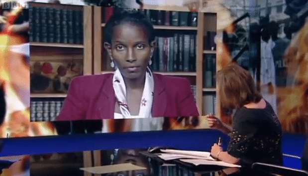 Newsnight - Ayaan Hirsi Ali Reacts to Muhammed Movie Protests