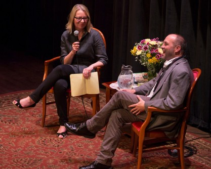 Leigh Faber and Colum McCann
