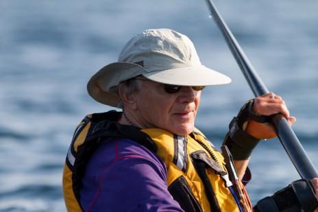 Aaron Stander, Kayaking