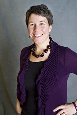Author Cari Noga at Traverse Area District Library
