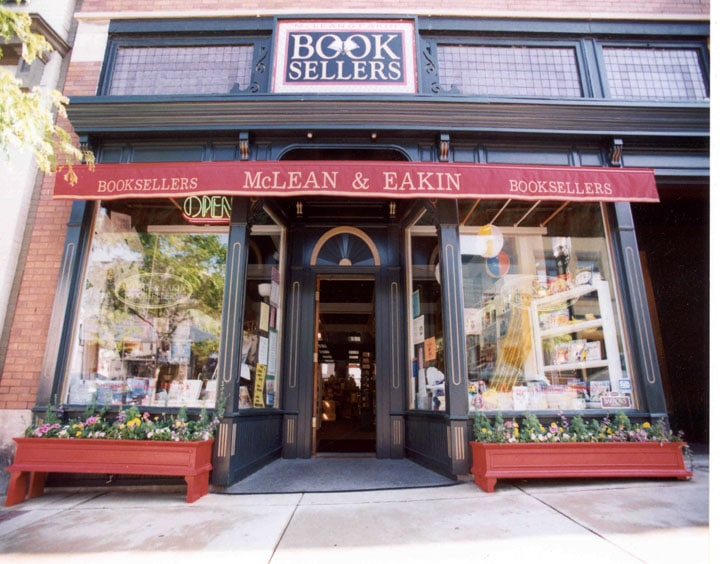 Up North Bookstores: McLean & Eakin Booksellers
