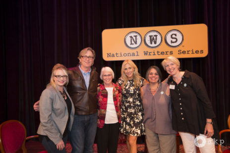 Stefanie Murray (guest host), Doug Stanton (co-founder), Bonnie Stanton (Doug's mom, poster distributor, flower getter), Emily Giffin (author), Jill Tewsley, Cymbre Foster