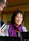 Novelist Tess Gerritsen Impresses Traverse City Audience with Her Humor and Brilliant Intellect