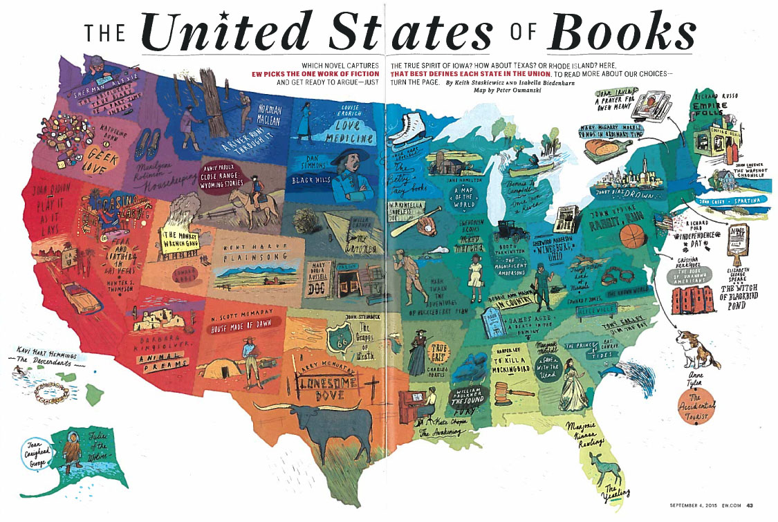 Entertainment Weekly, The United States of Books
