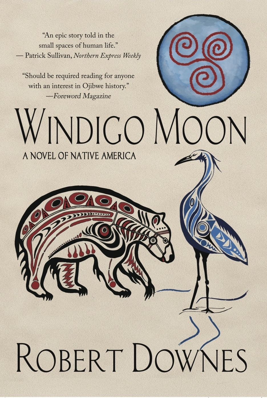 Windigo Moon front cover