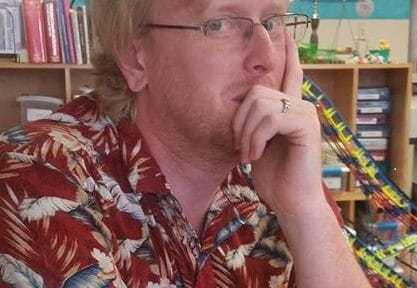 Meet December's Author Next Door: Michael Taillard