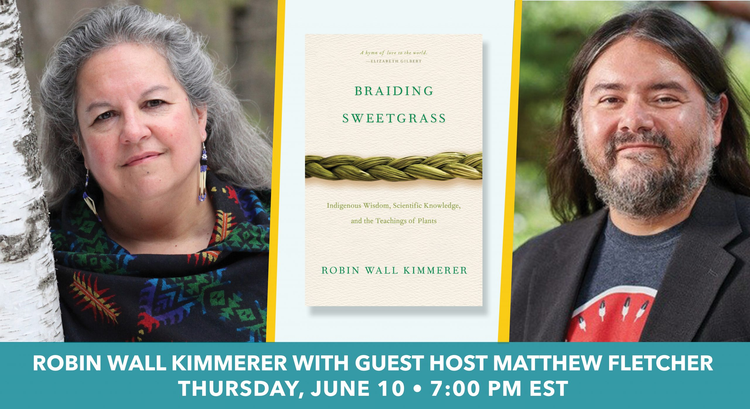 """PRESS RELEASE: Announcing """"An Evening with Robin Wall Kimmerer"""""""