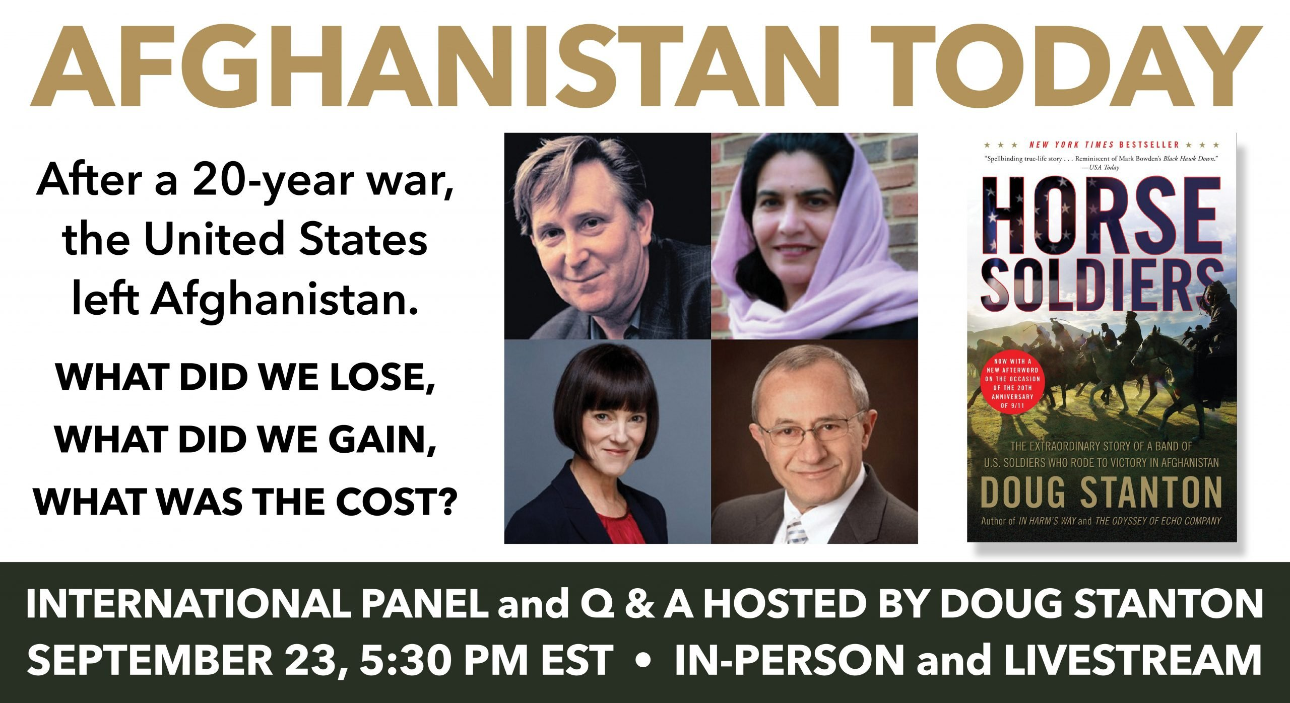 """PRESS RELEASE: """"Afghanistan Today: An International Panel"""""""